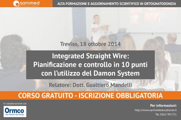 Integrated Straight Wire: Pianificazione e controllo in 10 punti con l'utilizzo del Damon System